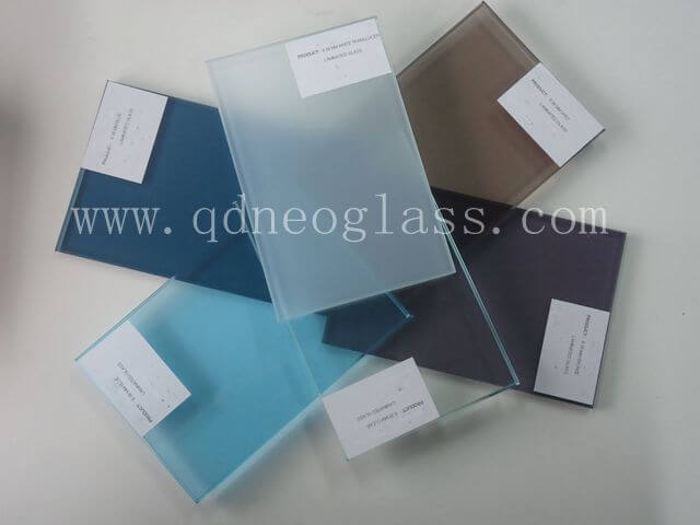 Custom-Made Tint PVB laminated Glass Series