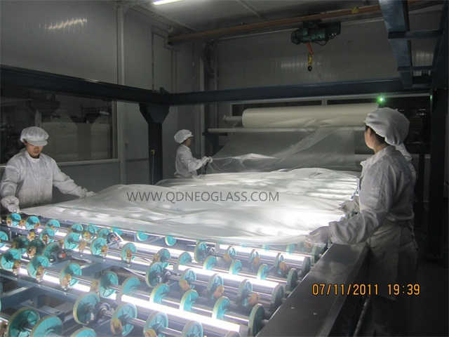 Heat Strengthened Laminated Glass-AS/NZS 2208: 1996, CE, ISO 9002