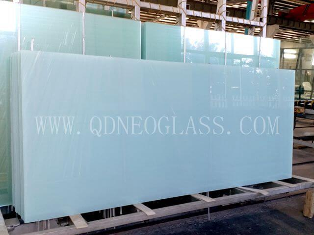 Opal White Laminated Safety Glass-AS/NZS 2208: 1996, CE, ISO 9002