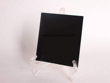 Black Painted Glass With Safety Vinyl Back-AS/NZS 2208: 1996, CE, ISO 9002