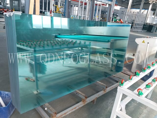 Grinded Clear Laminated Glass